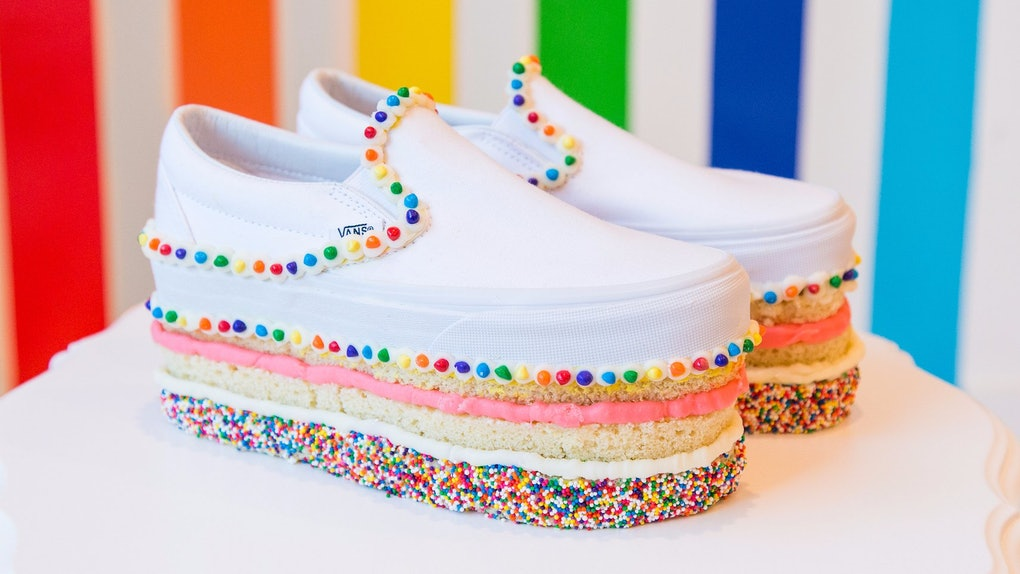 890c65834d4a Vans Custom Culture Competition s Cake Shoes Look Too Good To Wear