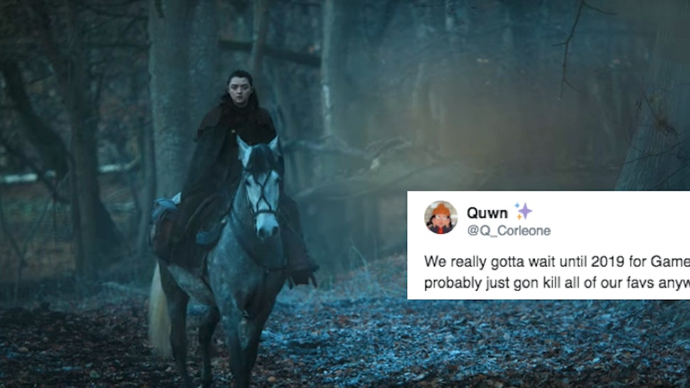 Fan Reactions To Games Of Thrones 2019 Return Pretty Much Sum Up
