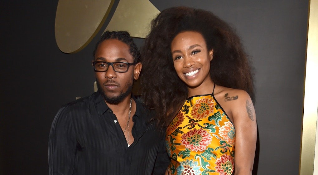 Kendrick Lamar Sza S Black Panther Song All The Stars Is Here