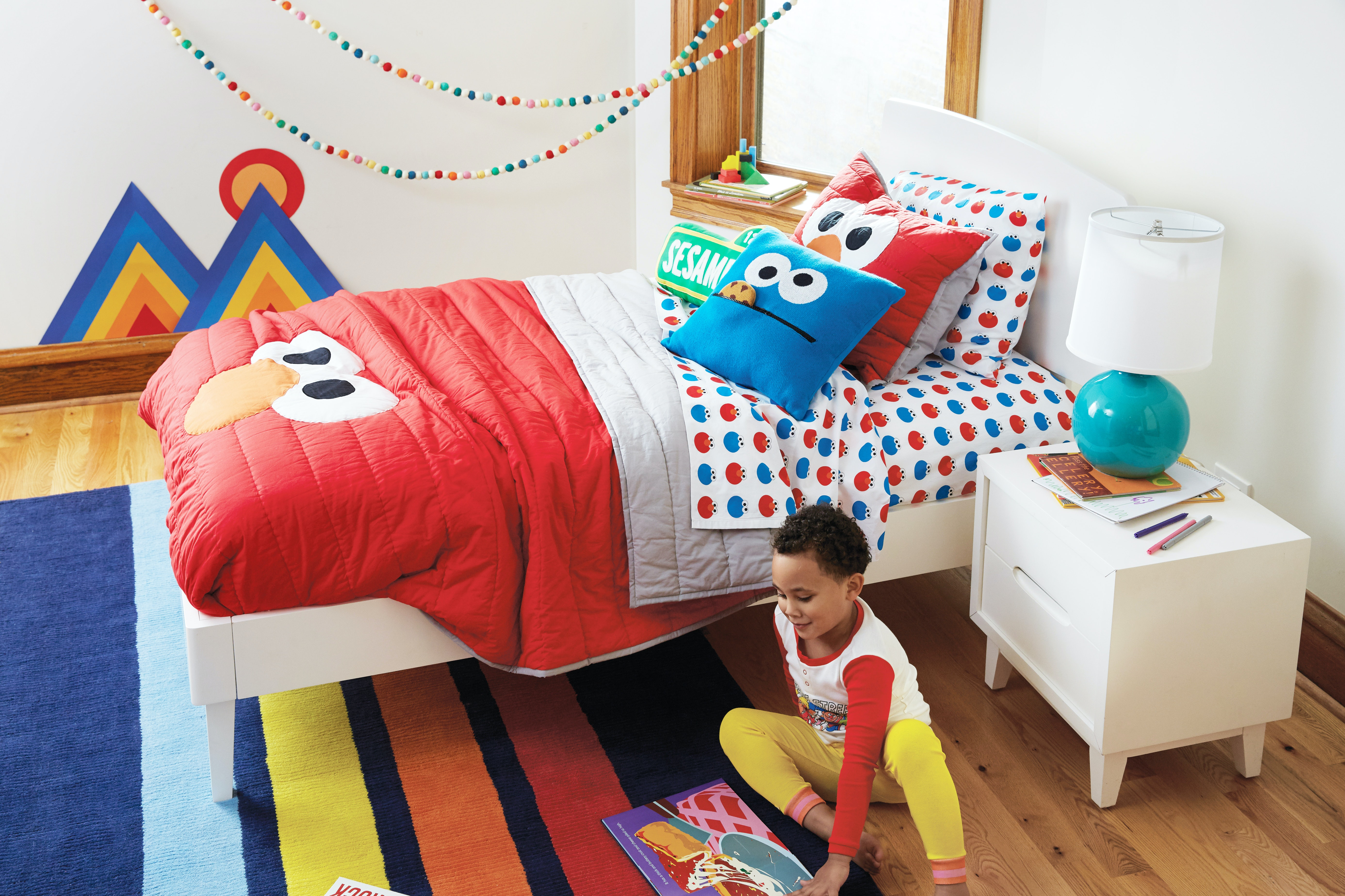 Image of: The Sesame Street X Land Of Nod Collection Is Here It S Good
