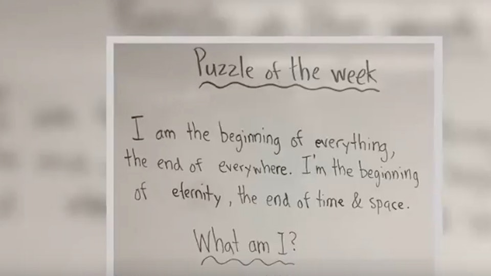 This First-Grader's Answer To A Teacher's Puzzle Is Going Viral