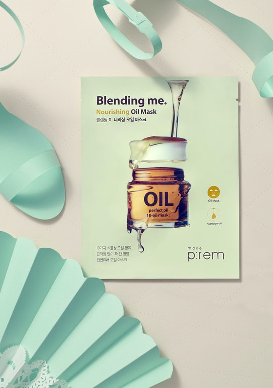 Make P:rem Blending Me. Nourishing Oil Mask