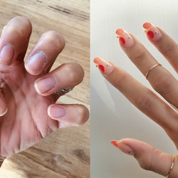 Gel nail extensions are the healthy alternative to acrylic nails that experts recommend.