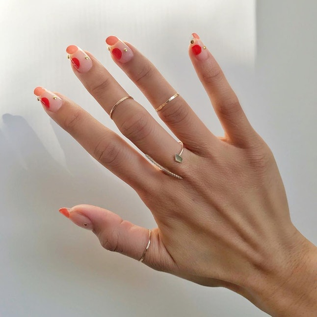 Gel nail extensions can last up to three weeks and are a safer alternative to acrylics, according to experts.