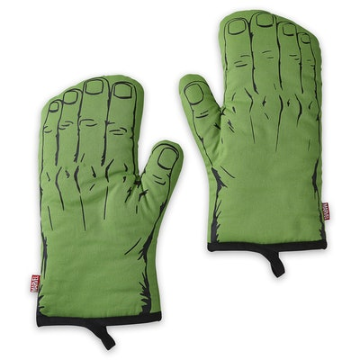 The Hulk Oven Mitts