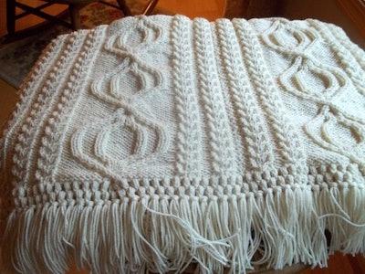 Knit Afghan