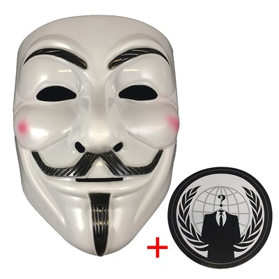 Jessters Anonymous Mask And Sticker
