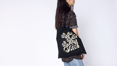 WF x Refinery 29 She Voted Tote