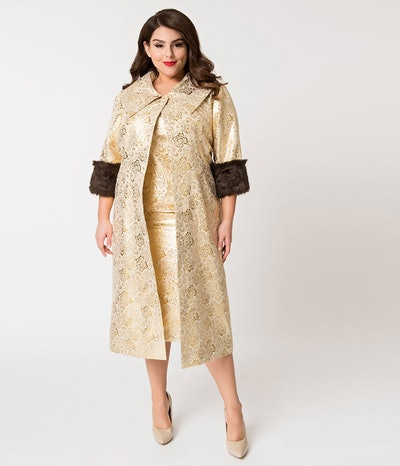 Evening Splendour Brocade Coat
