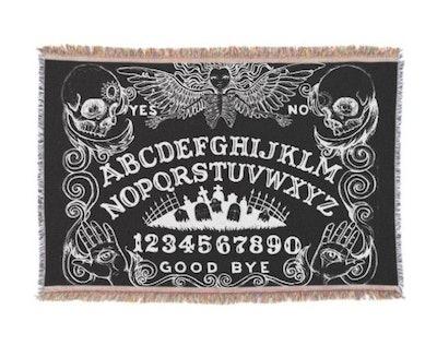 Ouija Board Tapestry/Throw Blanket