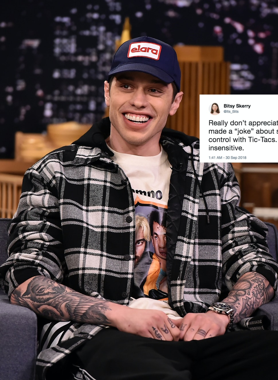Pete Davidson S Snl Joke About Ariana Grande S Birth Control Has