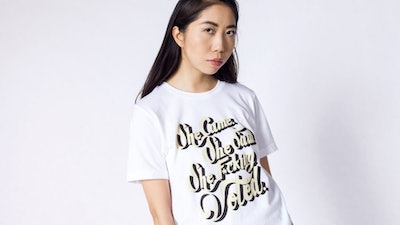 WF x Refinery 29 She Voted Tee