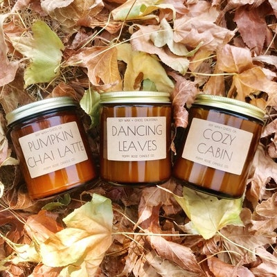 Fall Candle Trio