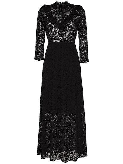 Victorian Lace Midi Dress