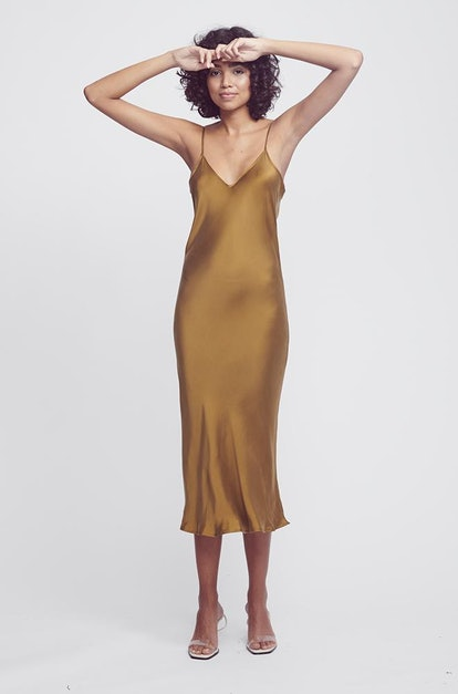 90s Silk Slip Dress