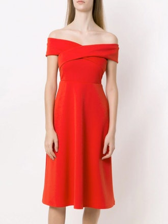 Midi Off-The-Shoulder Dress