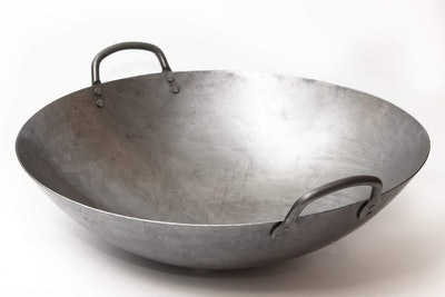 Craft Wok Hand Hammered Carbon Steel Wok