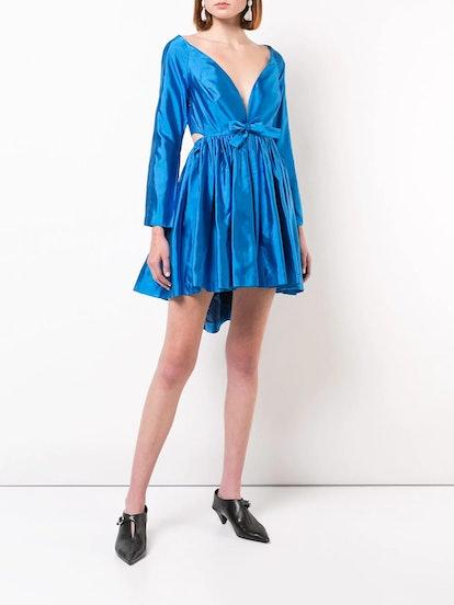 V-Neck Cocktail Dress