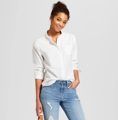 Women's Long Sleeve Camden Button-Down Shirt - Universal Thread™
