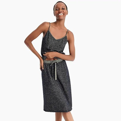 J.Crew X DEMYLEE™ Lurex® Cashmere Sweater Skirt