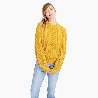 Demylee™ X J.Crew Balloon-Sleeve Sweater