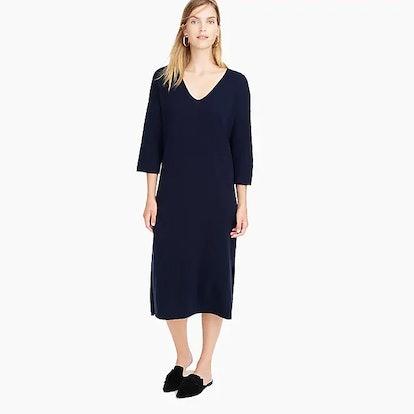 Demylee™ X J.Crew Ribbed Merino Wool Dress