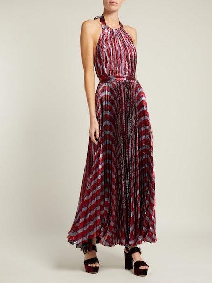 Inais Halterneck Gown