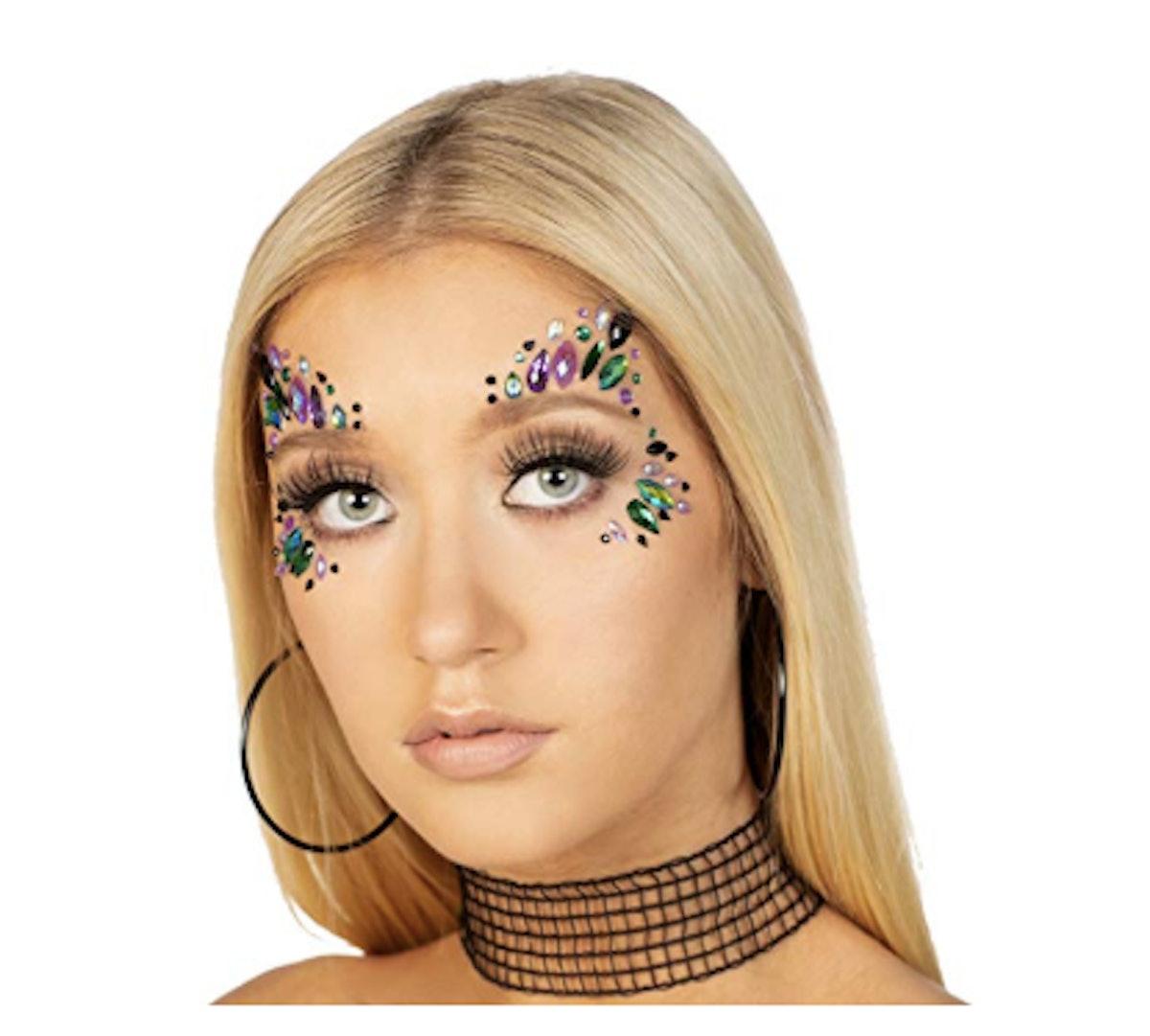Face Jewels Glitter Gems