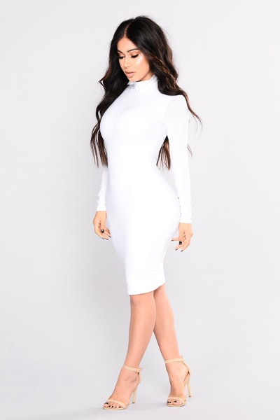 Love Your FN Body Dress - White