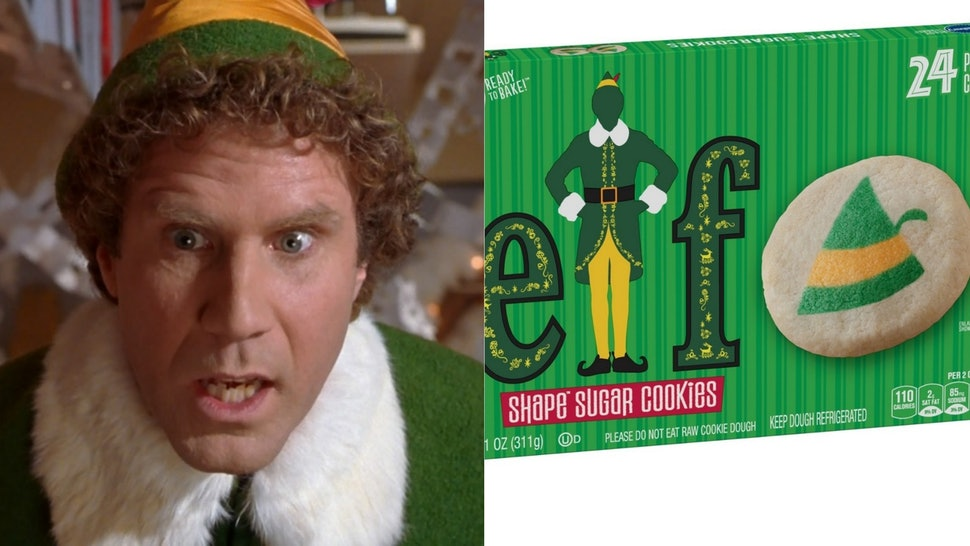 Buddy The Elf Themed Sugar Cookie Dough From Pillsbury Is Hitting