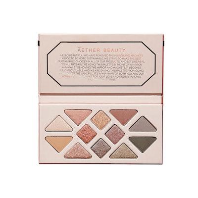 Rose Quartz Crystal Gemstone Palette