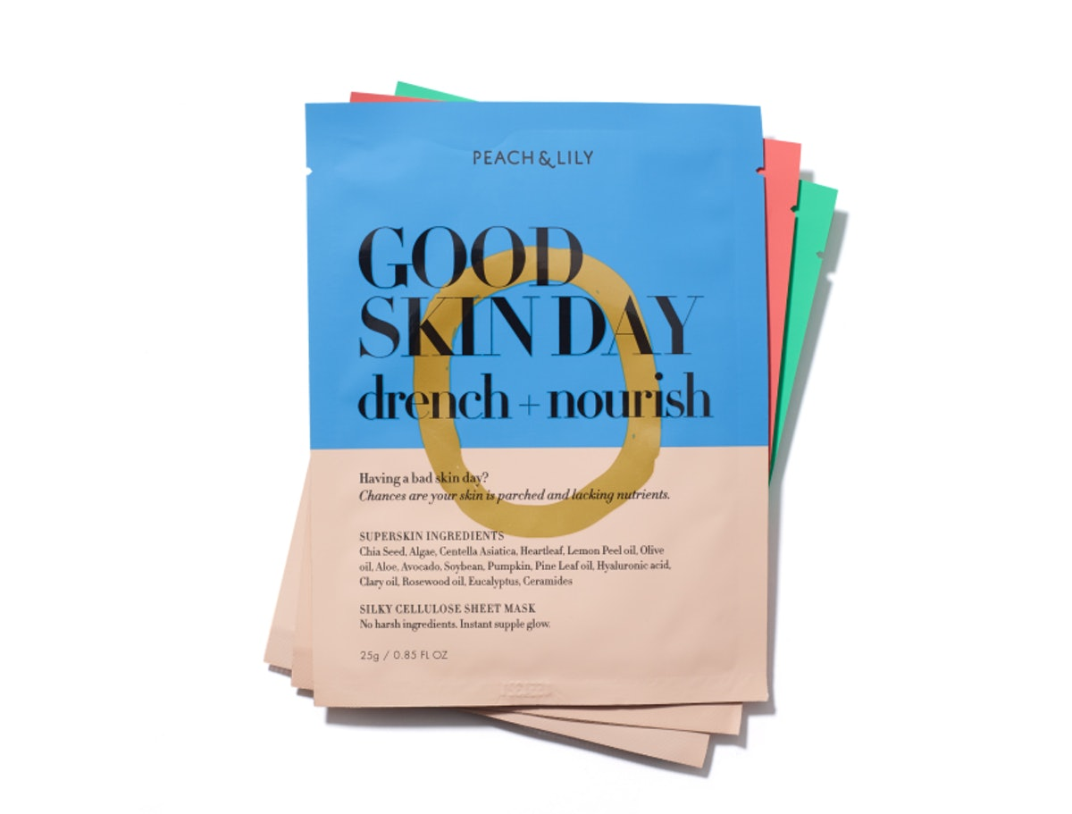 Peach & Lily Good Skin Day Drench + Nourish Sheet Mask