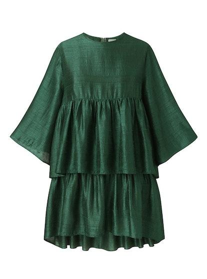Deepa Raw Silk Dress