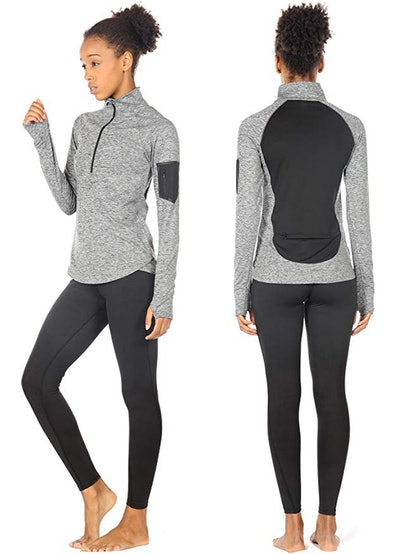 icyzone Long Sleeve Workout Shirt