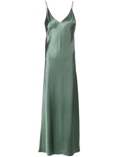 Clea Silk Satin Dress