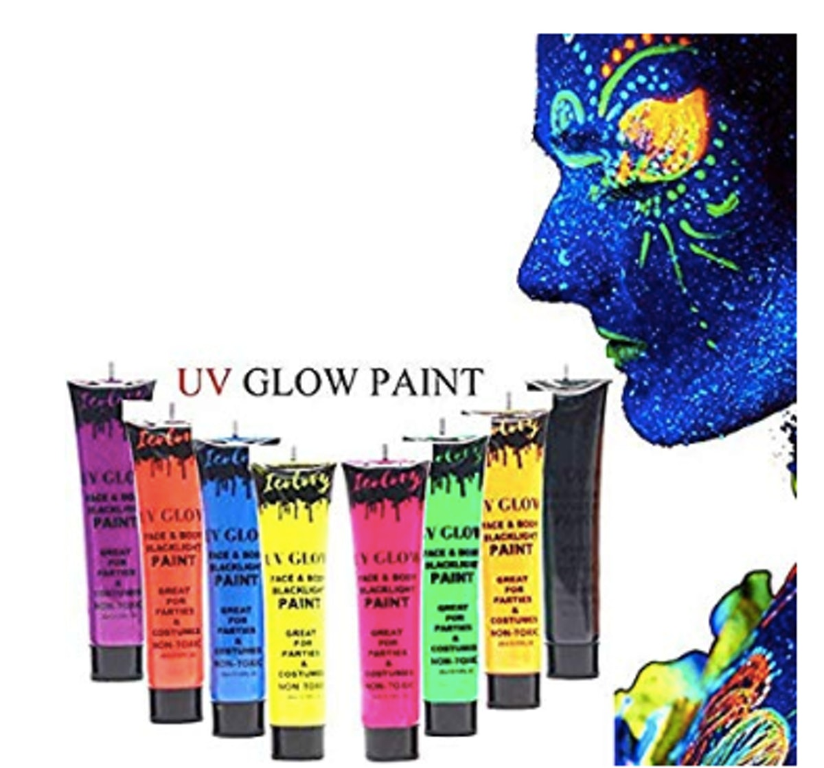 low Blacklight Body Paint