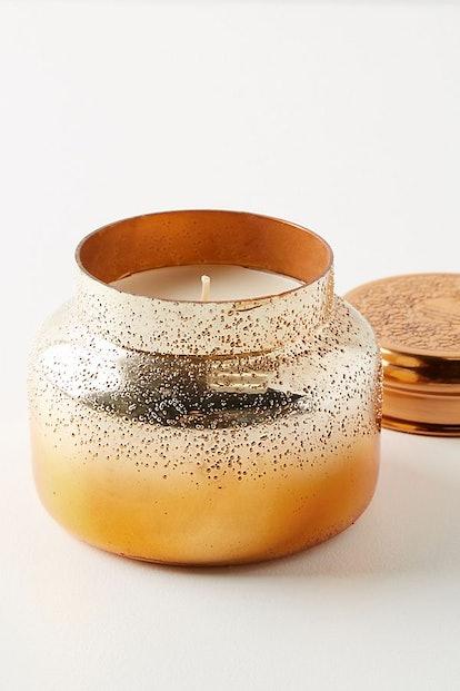 Capri Blue Pumpkin Clove Iridescent Jar Candle