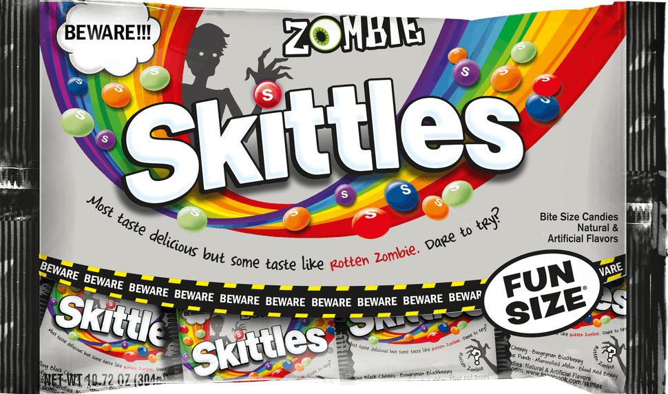 Image result for zombie skittles
