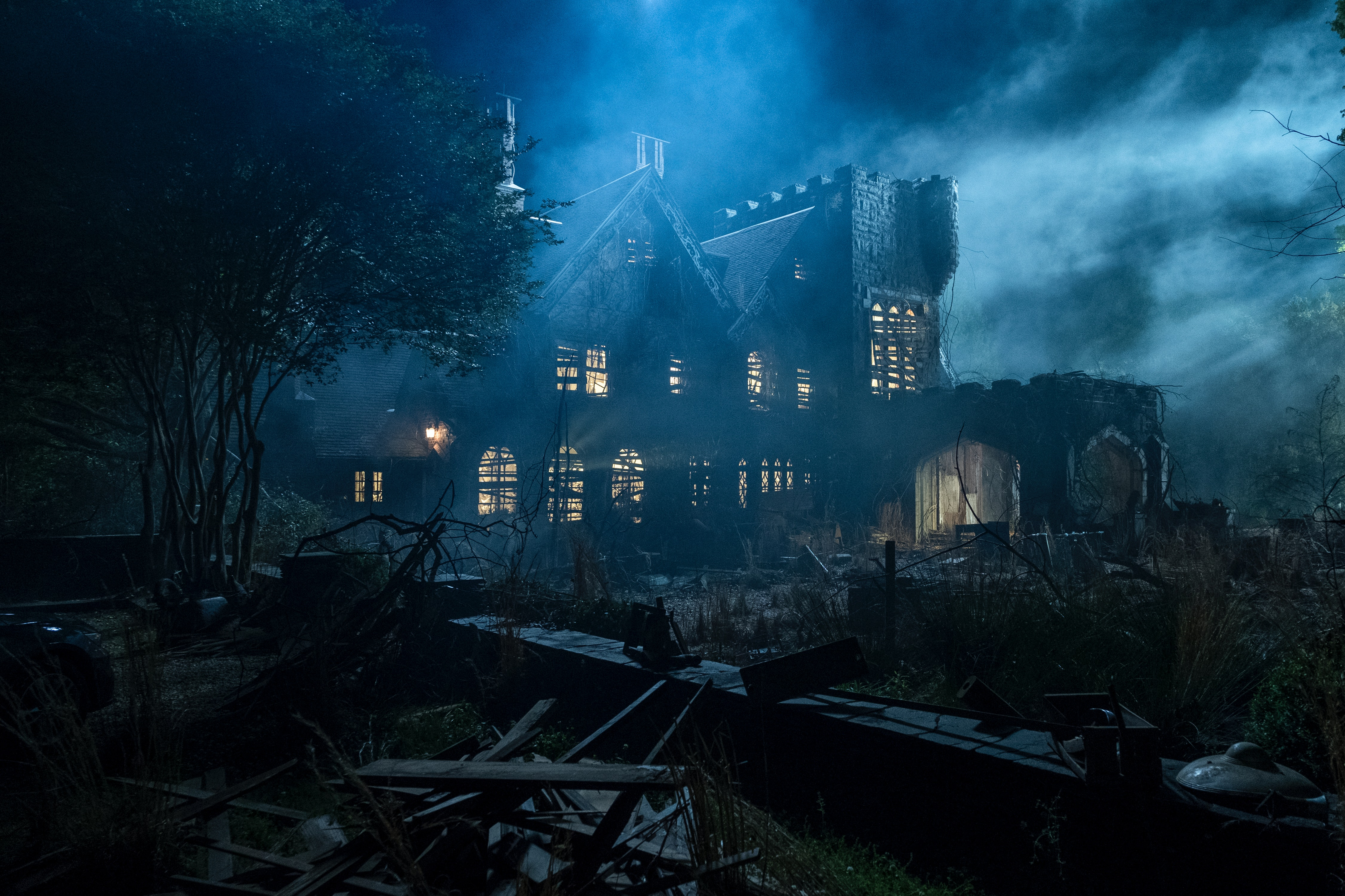 The Haunting Of Hill House By Shirley Jackson Was Reportedly Electricity In Action Inspired These 6 Spooky Places