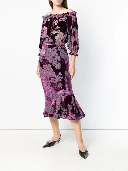 Grace Floral Midi Dress