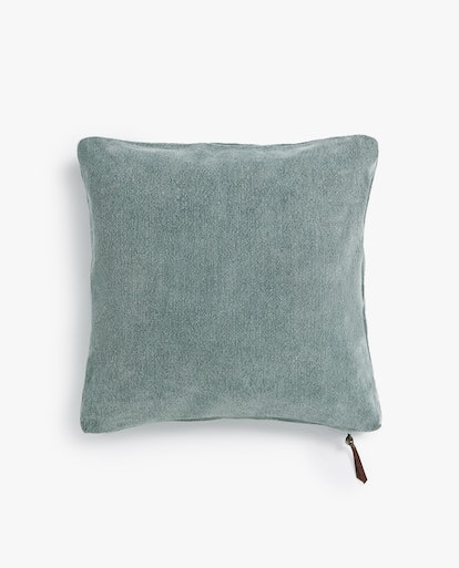 Washed Linen Throw Pillow Cover