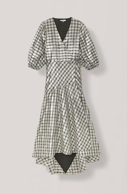 Lagarde Silk Wrap Dress