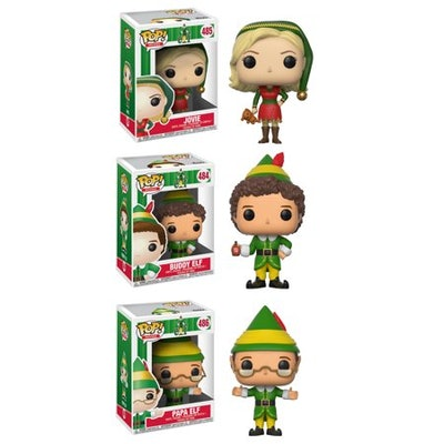 Funko POP! Movies Elf Collectors Set