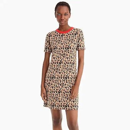 Demylee™ X J.Crew Leopard-Print Sweater-Dress