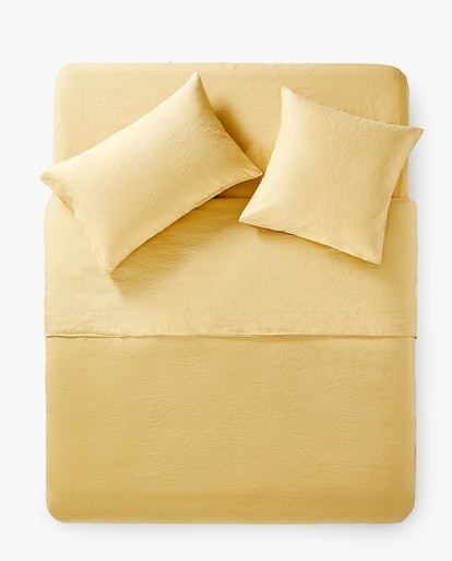 Washed Linen Duvet Cover, Double