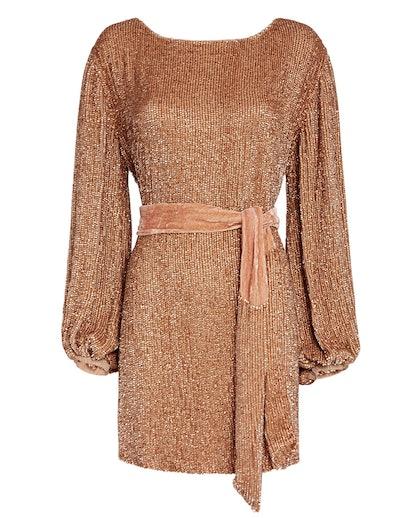 Grace Sequin Mini Dress