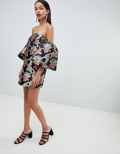 Bardot Jacquard Dress