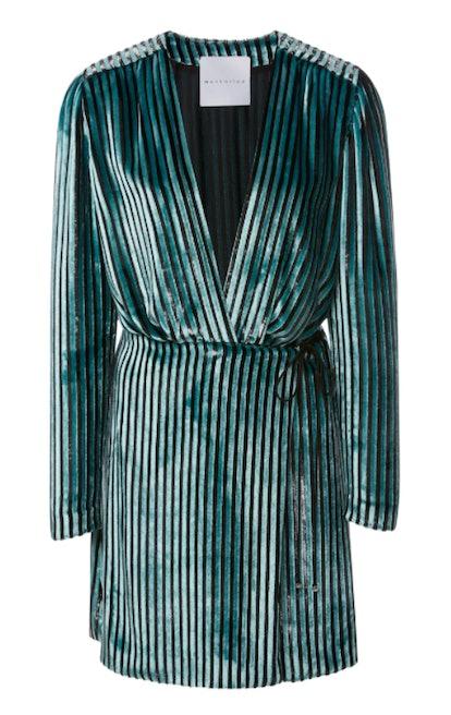 Striped Velvet Prince Dress