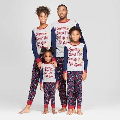 Harry Potter Matching Pajama Set