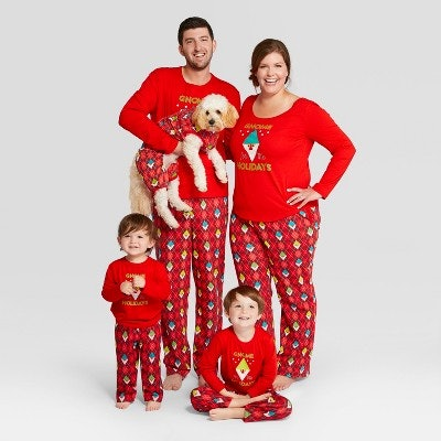 Wondershop™ Gnome For The Holiday Family Pajamas Collection